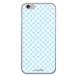 Capa para celular - Xadrez Azul