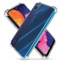 Capa para Galaxy A10 de TPU Anti Shock - Transparente