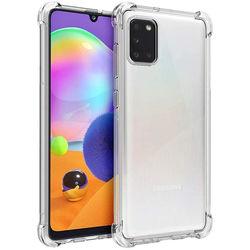 Capa para Galaxy A31 de TPU Anti Shock - Transparente