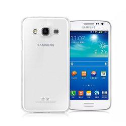 Capa para Galaxy A5 A500 de TPU - Transparente Fosco