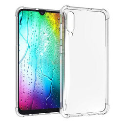 Capa para Galaxy A50 de TPU Anti Shock - Transparente
