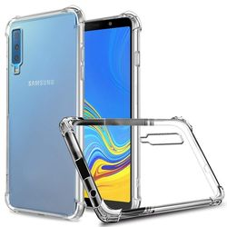 Capa para Galaxy A7 2018 de TPU Anti Shock - Transparente