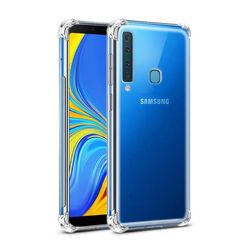 Capa para Galaxy A9 2018 de TPU Anti Shock - Transparente