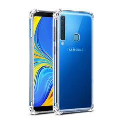 Capa para Galaxy A9 2018 de TPU Anti Shock - Transparente