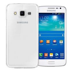 Capa para Galaxy E7 de TPU - Transparente