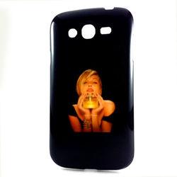 Capa para Galaxy Gran Duos i9082 de TPU - Mulher com Perfume