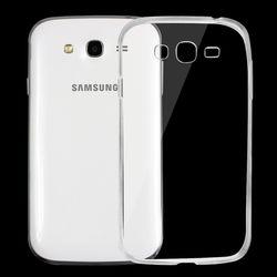 Capa para Galaxy Gran Neo Duos de TPU - Transparente