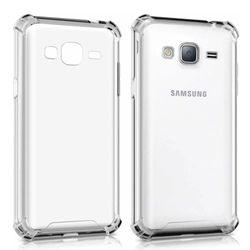 Capa para Galaxy J2 Prime de TPU Anti Shock - Transparente