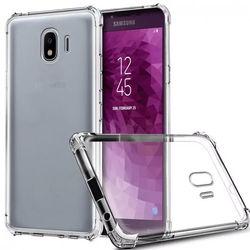 Capa para Galaxy J4  Plus de TPU Anti Shock - Transparente