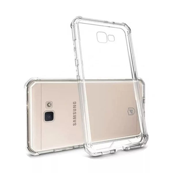 c9643afb8e2 Capa para Galaxy J7 Prime de TPU Anti Shock - Transparente | Mega ...