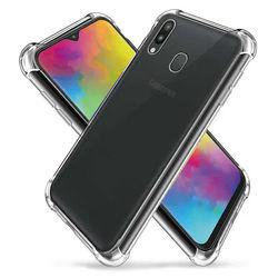 Capa para Galaxy M20 de TPU Anti Shock - Transparente