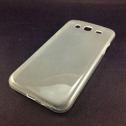Capa para Galaxy Mega 5.8 Duos i9152 de TPU - Transparente