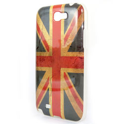 Capa para Galaxy Note 2 N7100 Bandeira do Reino Unido