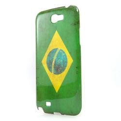 Capa para Galaxy Note 2 N7100 de TPU da Bandeira do Brasil