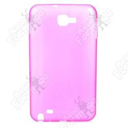Capa para Galaxy Note N7000 de TPU - Rosa