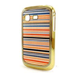 Capa para Galaxy Pocket S5300 de Plástico Brilhante - Listrada