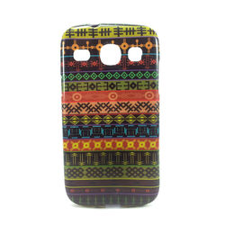 Capa para Galaxy S III Duos i8262 de TPU - Étnica 4