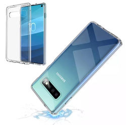 Capa para Galaxy S10 de TPU Anti Shock - Transparente
