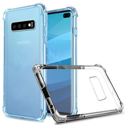 Capa para Galaxy S10 Plus de TPU Anti Shock - Transparente