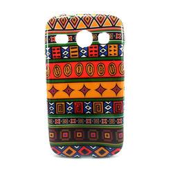 Capa para Galaxy S3 Duos i8262 de TPU - Étnica 5