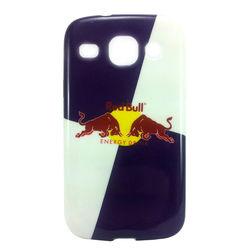 Capa para Galaxy S3 Duos i8262 de TPU - Red Bull