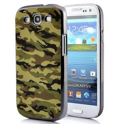 Capa para Galaxy S3 i9300 Camuflagem do Exército