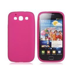 Capa para Galaxy S3 i9300 de silicone - Rosa