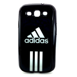 Capa para Galaxy S3 i9300 de TPU Preto - Adidas