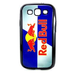 Capa para Galaxy S3 i9300 de TPU Preto - Red Bull