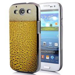 Capa para Galaxy S3 i9300 Design Copo Cerveja