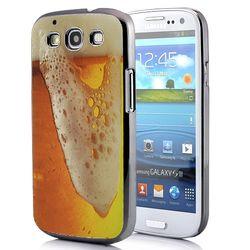 Capa para Galaxy S3 i9300 Design Copo Cheio Cerveja
