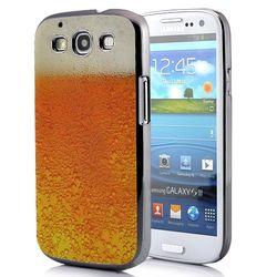 Capa para Galaxy S3 i9300 Design Copo Espuma Cerveja