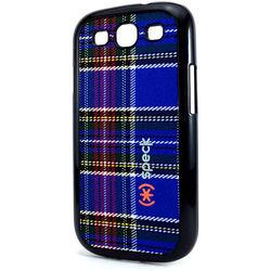 Capa para Galaxy S3 i9300 Speck Tecido Xadrez - Azul