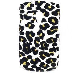 Capa para Galaxy S3 Mini i8190 de Onça Veludo - Prata