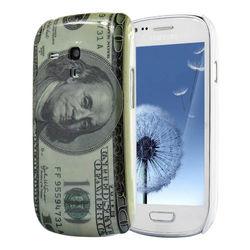 Capa para Galaxy S3 Mini i8190 de Plástico - Dólar