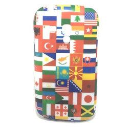 Capa para Galaxy S3 Mini i8190 de TPU ProCover - Bandeiras