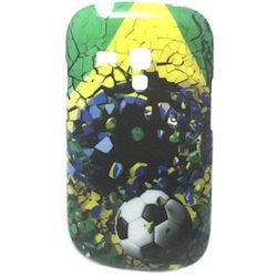 Capa para Galaxy S3 Mini i8190 de TPU ProCover - Brasil Bola