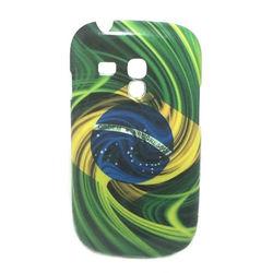Capa para Galaxy S3 Mini i8190 de TPU ProCover - Brasil Espiral