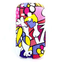Capa para Galaxy S3 Mini i8190 de TPU - Romero Britto Casal