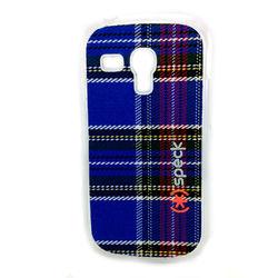 Capa para Galaxy S3 Mini i8190 Speck Tecido Xadrez - Azul