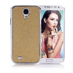 Capa para Galaxy S4 i9500 com Glitter - Dourado