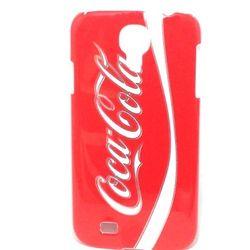 Capa para Galaxy S4 i9500 de Plástico - Coca Cola