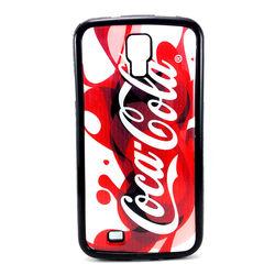 Capa para Galaxy S4 i9500 de TPU - Coca Cola