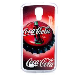 Capa para Galaxy S4 i9500 de TPU - Coca Cola Tampa
