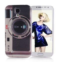 Capa para Galaxy S4 i9500 Estilo Retrô Camera M9