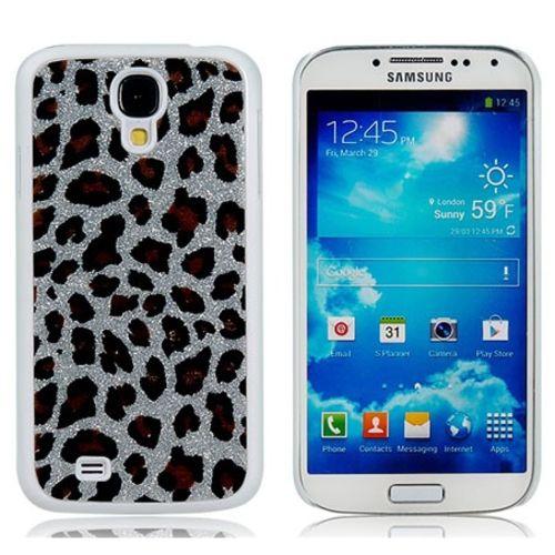 Imagem de Capa para Galaxy S4 i9500 Leopardo - Prata