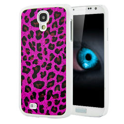 Capa para Galaxy S4 i9500 Leopardo - Rosa