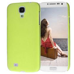 Capa para Galaxy S4 i9500 Ultra Fina de TPU - Amarelo Fosco