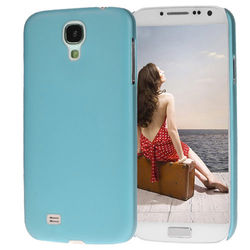 Capa para Galaxy S4 i9500 Ultra Fina de TPU - Azul Fosco