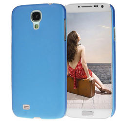 Capa para Galaxy S4 i9500 Ultra Fina de TPU - Azul Fosco 2